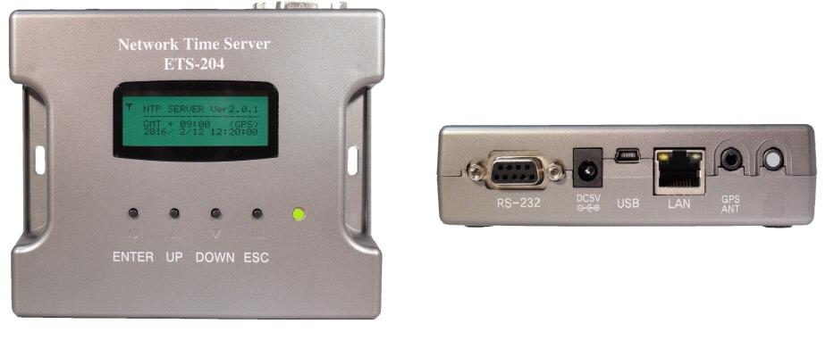 GPS/GLONASS/JJY受信型NTPタイムサーバー