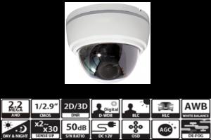 VD-A2105 / 固定焦点ドームカメラ
