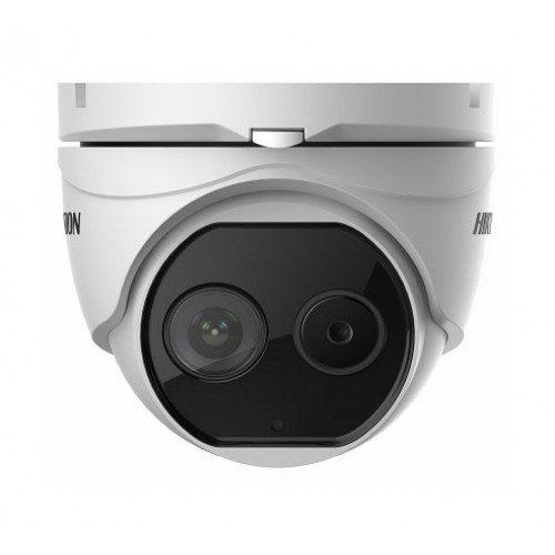 DS-2TD1217B-3/PA(B)/発熱(体表温度)測定 AI顔認識ドームカメラ