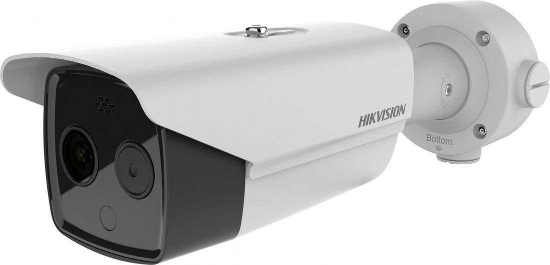 DS-2TD2617B-6/PA(B)/発熱(体表温度)測定 AI顔認識バレットカメラ