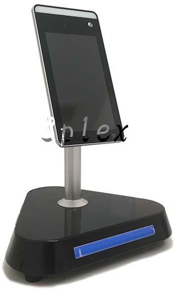 V2L/7インチタブレット型 体温測定・顔認証AIカメラ